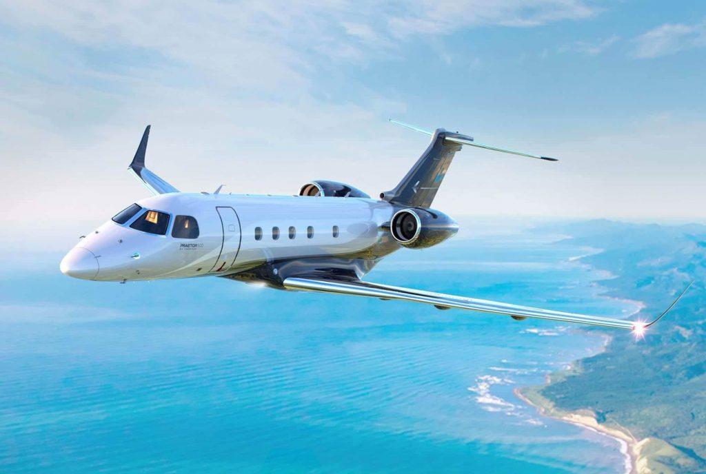 Embraer Praetor 600 private jet