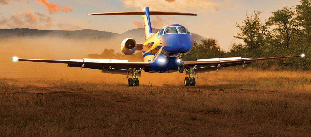 Pilatus PC24 private jet