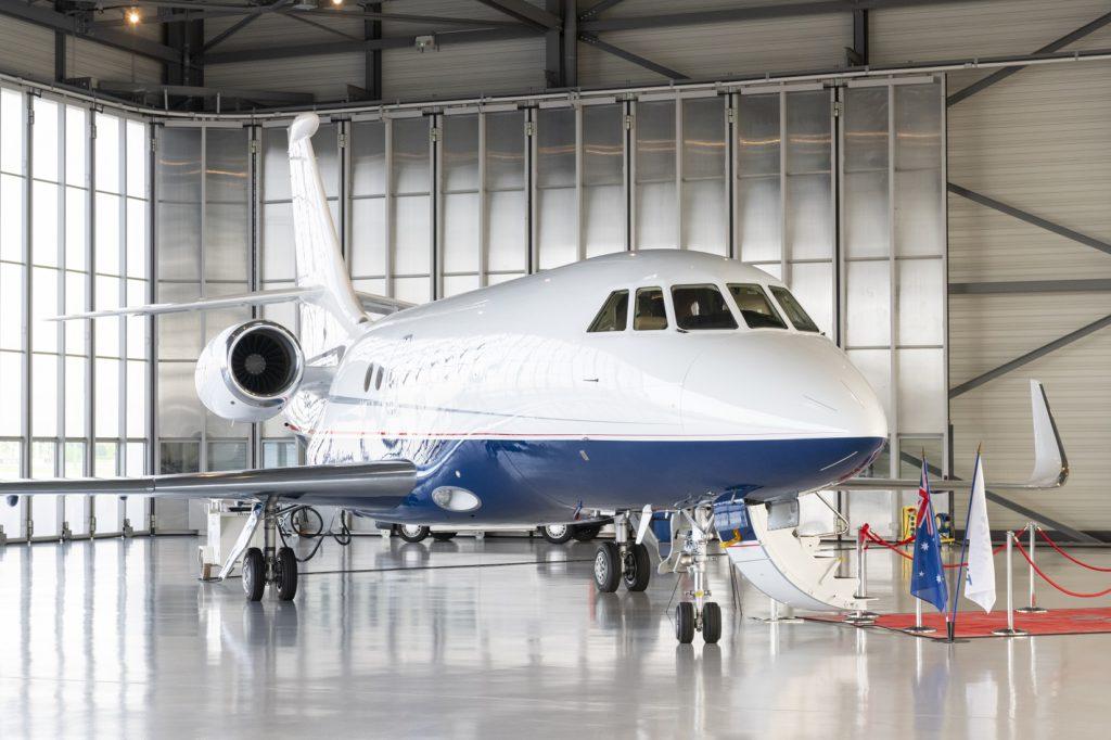 Falcon 2000LX in Sydney